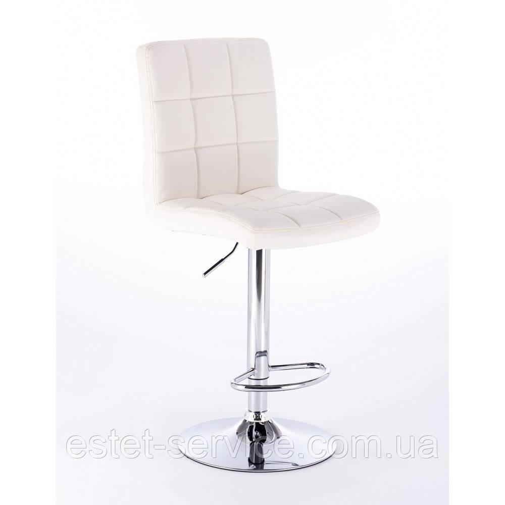 Визажный стул хокер HC1015 на барной основе в ЦВЕТАХ кожзам