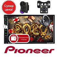 Автомагнитола 2Din Pioneer 7041CRB 1026*600px, 2 USB,SD, AUX + КАМЕРА+ПУЛЬТ НА РУЛЬ, фото 1