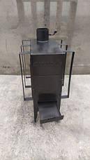 Печь дровяная CANADA с теплоаккумулятором длительного горения, фото 3