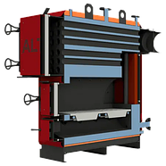 Жаротрубные отопительные котлы Altep Max 150 кВт, фото 2