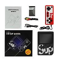 Ретро игровая приставка (Игровая консоль) Game Box sup 400 игр в 1 + джойстик Black, фото 1