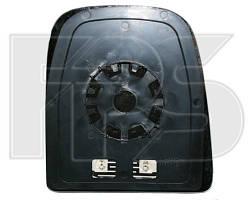 Вкладыш зеркала левогос обогревом выпуклый верхний Iveco Daily 06- (FPS)