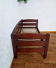 """Детская деревянная кровать с бортиком """"Таисия"""" от производителя, фото 3"""