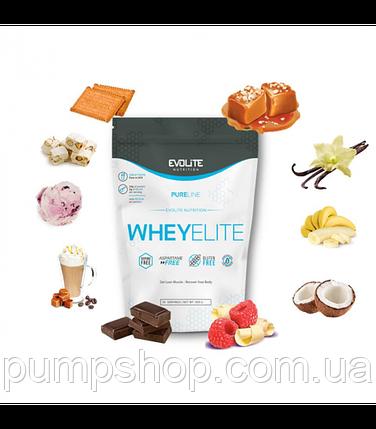 Сывороточный протеин Evolite Nutrition WheyElite 900 г, фото 2