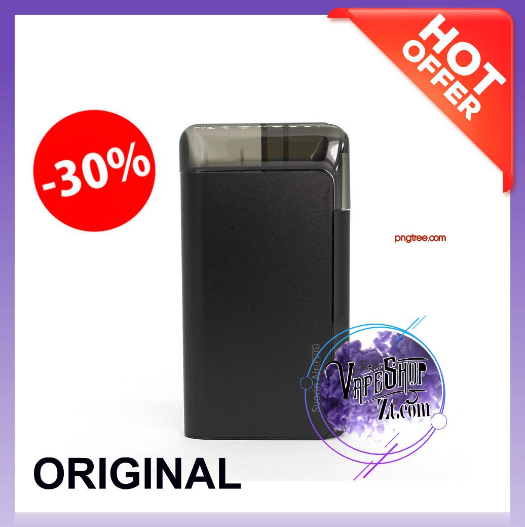 Suorin Air Plus black Pod system - Электронная сигарета suorin air Pod система (Вейп) Suorin vape. ОРИГИНАЛ