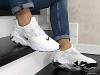 Кросівки чоловічі в стилі Nike React Presto білі