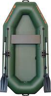 К-210 лодка КОЛИБРИ надувная одноместная ПВХ (Kolibri), подвижное сиденье. Серия Супер Лайт.