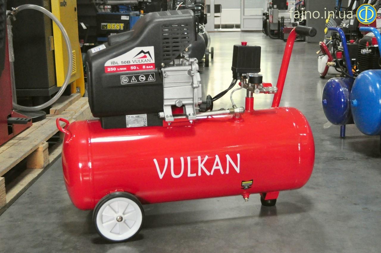 Компрессор Vulkan IBL 50B (1,8 кВт, 250 л/мин, 50 л)