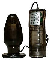 Анальный стимулятор с вибрацией Anal Drops Vibration-Plug, фото 1