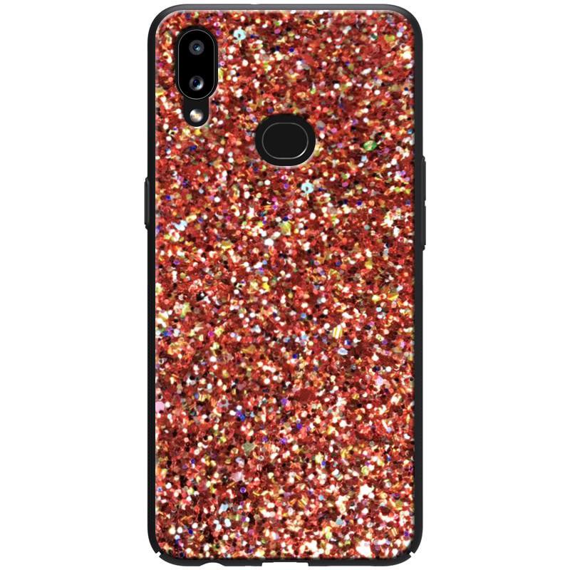 TPU чехол Glitter Crystal для Samsung Galaxy A10s