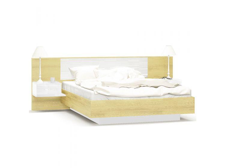 КроватьФиеста (каркас без ламелей) дуб золотой