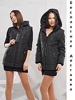 Модные женские куртки жилетки весна осень