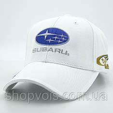 Кепка Subaru А190 Белая