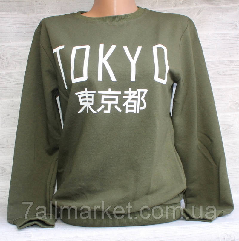 """Свитшот женский модный TOKYO, размер унив 42-46 (5цв) """"LEDI"""" купить недорого от прямого поставщика"""