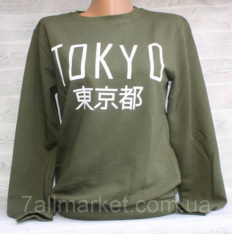 """Світшот жіночий модний TOKYO, розмір унів 42-46 (5кол) """"LEDI"""" купити недорого від прямого постачальника"""
