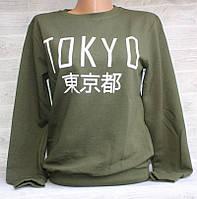 """Світшот жіночий модний TOKYO, розмір унів 42-46 (5кол) """"LEDI"""" купити недорого від прямого постачальника, фото 1"""