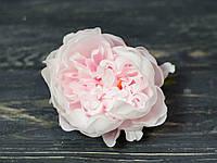 Гол. пиона  пушистик. розовый 10 см, фото 1
