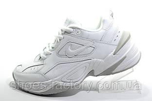Кроссовки унисекс в стиле Nike M2K Tekno, White\Белые (Air Monarch)