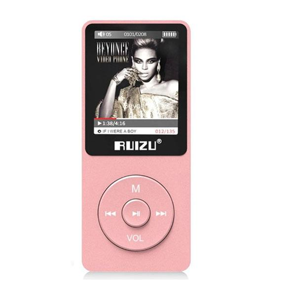 MP3 Плеер RuiZu X02 8Gb Original Розовый