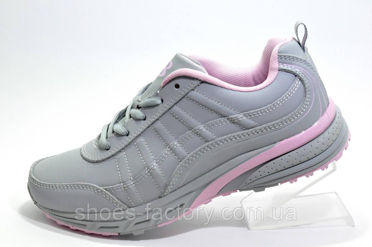 Женские кроссовки Bona, Gray\Pink (Бона)
