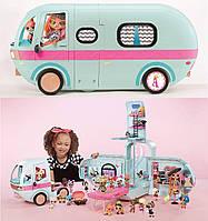 ЛОЛ Автобус  MGA L. O. L. SURPRISE Glamper Fashion Гламурный кемпер 2-в-1 с аксессуарами (562511)