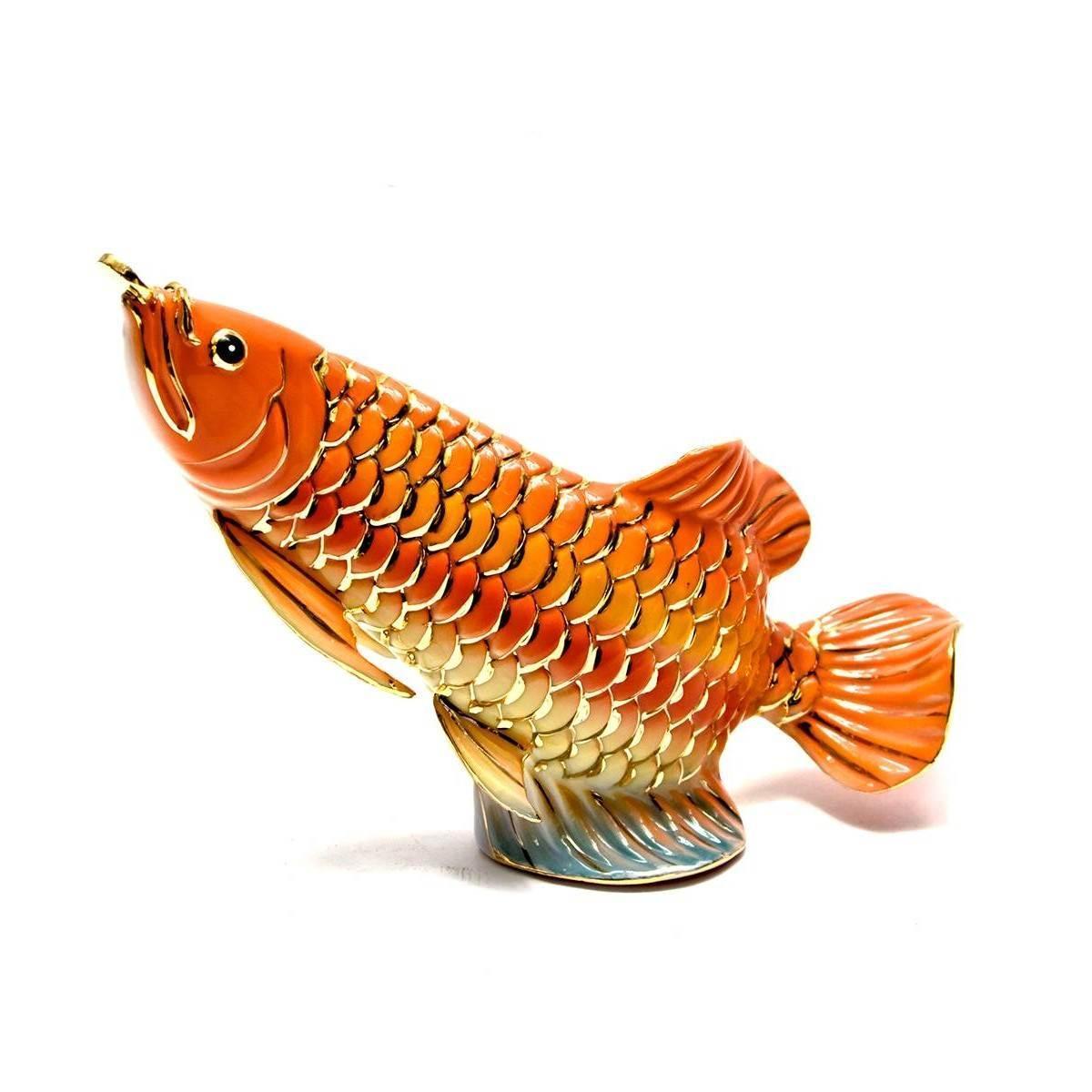 """Рыба """"Ю"""" фарфор 12х16х5 см 26501"""