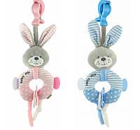 Подвеска плюшевая  Baby mix Кролик