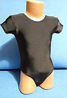 Купальник для гимнастический короткий рукав,бифлекс
