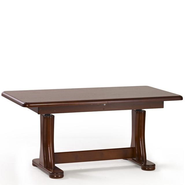 Журнальный стол TYMON темный орех (125(164)х65х60(75)) Halmar