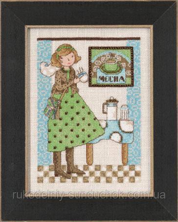 """Набор для вышивания """"Mocha Morning//Утренний кофе"""" Mill Hill DM302104"""