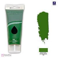 Акриловая краска Memory professional - Зеленая средняя, 75 мл