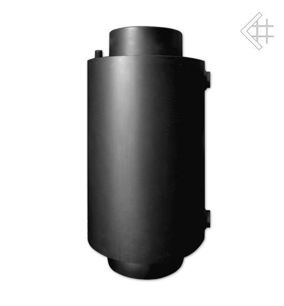 Радиатор для дымохода ТУРБОДЫМ для подогрева воды со змеевиком