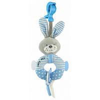 Подвеска плюшевая  Baby mix Кролик Blue
