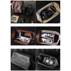 Защитный чехол-сумка Cam-in для фотокамеры Rolleiflex, Rolleicord, Hasselblad, Leica и др.