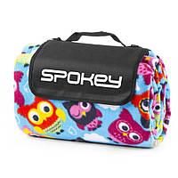 Коврик для пикника и пляжа водонепроницаемый Spokey Owl (original) 180x210 см, складывающееся покрывало