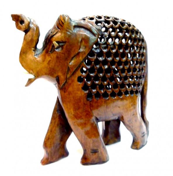 "9160089 Слон в слоне дерево эвкалипт С1633А-6"""