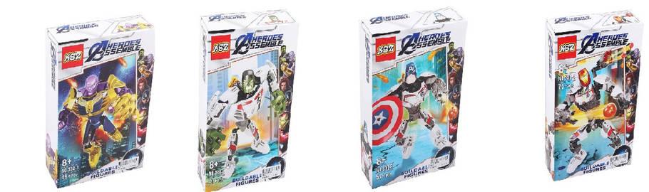 """Детский конструктор """"Avengers"""", 4 вида, 330-1/2/3/4, фото 2"""