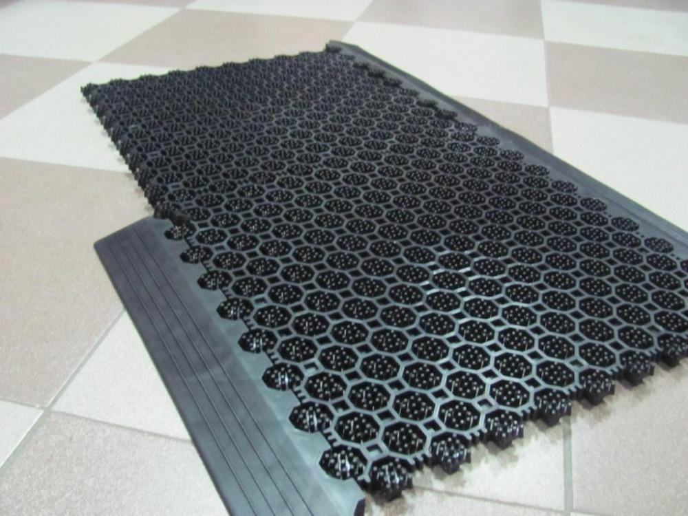 """Грязезащитные коврики ПВХ """"Клин Стэп""""   330х330х16 мм"""