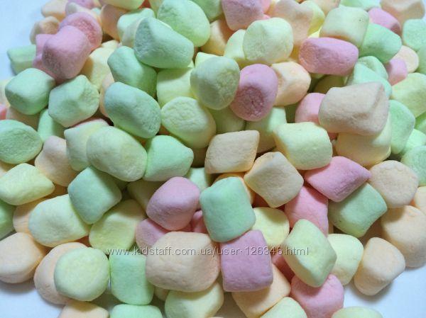 Маршмэллоу цветной Marshmallow фруктовые вкусы