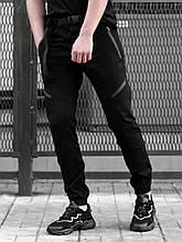 Мужские Джоггеры BEZET Techwear black'20, черные мужские джогеры безет