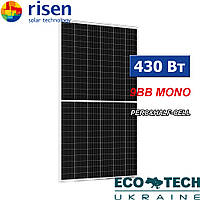 Сонячна панель Risen RSM156-430M-HS/9bb/PR