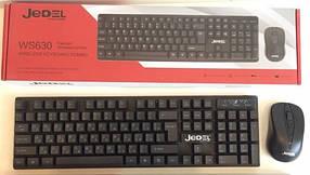 Клавиатура беспроводная JEDEL WS630