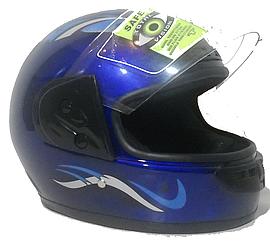 Мотошлем Safe(синий)