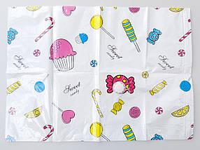 Набор вакуумных пакетов  с рисунком из 8 штук ( 3 разных размера) и насосом для упаковки и хранения одежды., фото 2