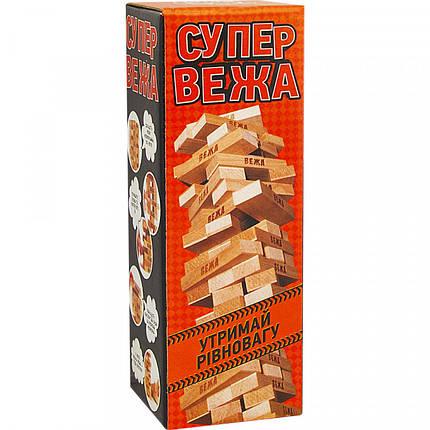 """Настольная игра Arial """"Супер вежа"""", деревянная, 910114, фото 2"""