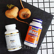 Now Foods, Мака, 500 мг, 100 вегетарианских капсул
