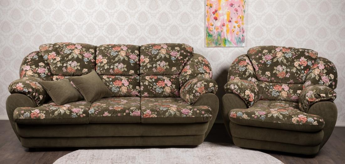 Комплект мягкой мебели Аляска Курьер
