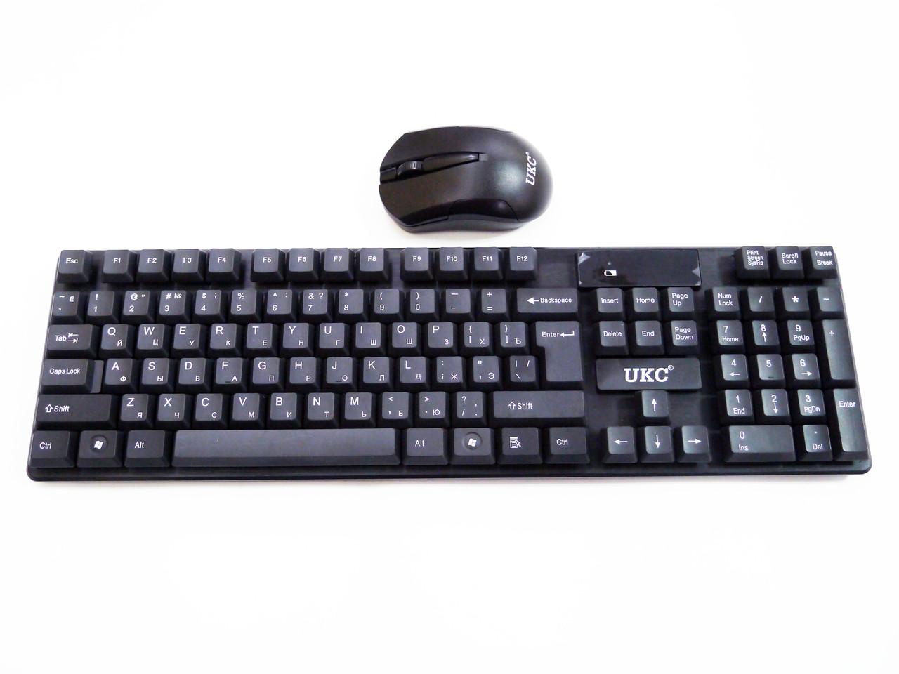 Беспроводная клавиатура + мышь UKC TJ-808