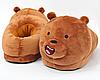 Тапочки-игрушки Медведи детские, 25-30