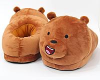 Тапочки-игрушки Медведи детские, 25-30, фото 1